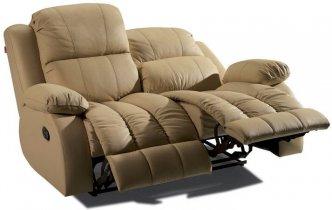 Кожаный диван Arizona 200-29 двойка с двумя реклайнерами