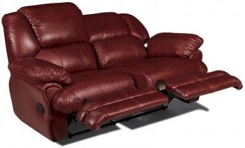Кожаный диван Indiana 400-29 с двумя реклайнерами