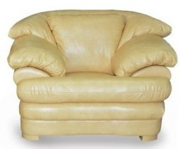 Кожаное кресло Жаклин