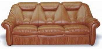 Кожаный диван Панда 3