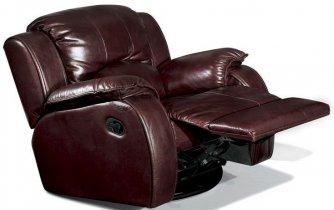 Кожаное кресло Minnesota 500-98e электрический реклайнер