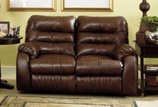 Кожаный диван Dakota 250-29 с двумя реклайнерами