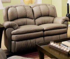 Кожаный диван Carolina 450-29 с двумя реклайнерами
