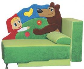 Детский диван Далио Маша и Медведь