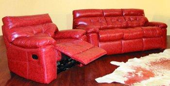 Кожаный диван Далио Неаполь