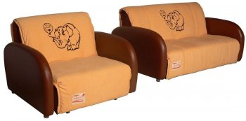 Кресло -кровать Fusion Sunny (Фужн Сани) спальное место 90см