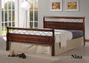 Кровать Onder Metal Metal&Wood Nina (Нина) 200x120см