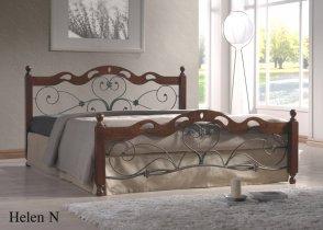 Кровать Onder Metal Metal&Wood Helen N (Хелен Н) 200x180см