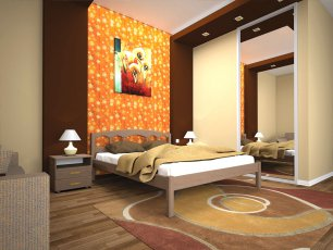 Кровать ТИС Омега - 140см