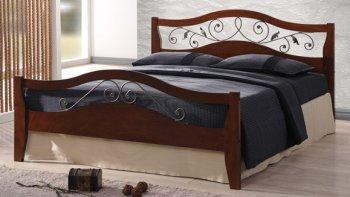Кровать Onder Metal Metal&Wood Tala HF (Тала ШФ) 200x160см