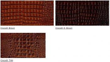 Искусственная кожа Крокодил (Crocodil) ширина 140см
