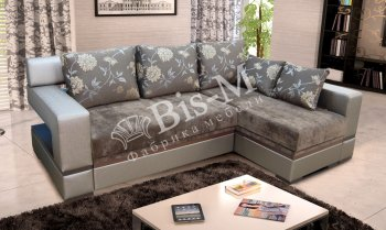 Угловой диван Цезарь длинный бок