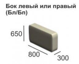 Модульный диван Вена модуль Бок