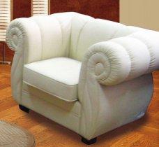 Кожаное кресло Валерия