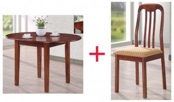 Комплект Стол Platon + 4 стула Lino