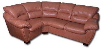 Кожаный угловой диван Калифорния 2.53х1.9