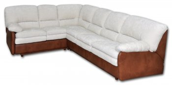 Кожаный угловой диван Чирз 2.2х2.75