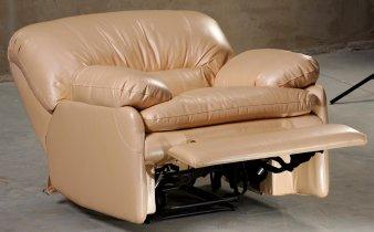 Кожаное кресло Чирз глидер-поворотный