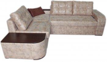 Угловой диван Хилтон М-1 в ткани Омега