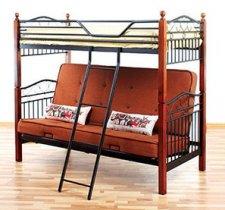 Кровать двухярусная DD Fun Futon размер 70/140x190см