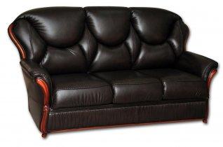 Кожаный диван Хилтон 3P