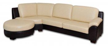 Кожаный угловой диван Чикаго
