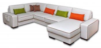 Кожаный модульный диван Манчестер