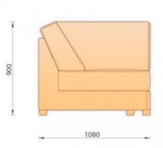Модуль дивана Манчестер Угол