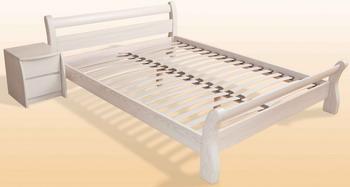 Кровать НЗК Земфира Ясень - 80x200см