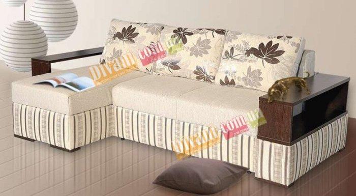 Угловой диван-кровать Arena Polo 21 LUX c кокосовой койрой
