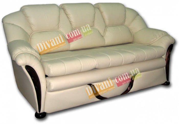 Кожаный диван Флеш