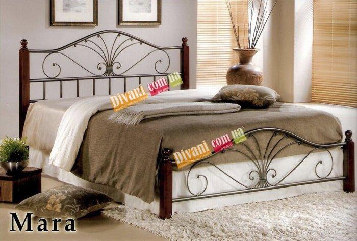 Двуспальная кровать  MARA 200x180см
