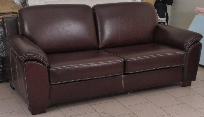 Кожаный диван Чикаго 3Р