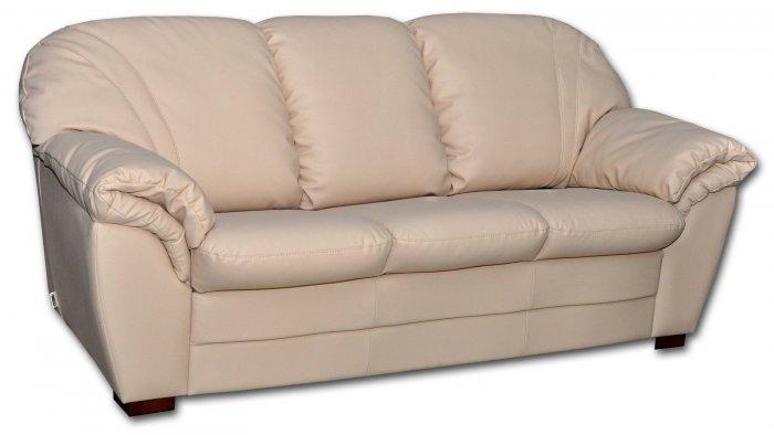 Кожаный диван Джесика 3Р 1.6