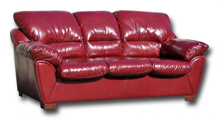 Кожаный диван Калифорния 3Р 1.6