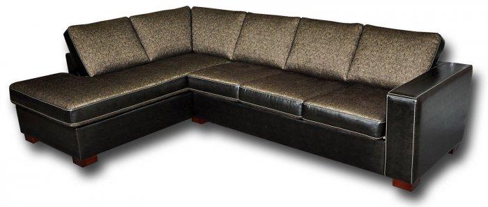 Кожаный угловой диван Бродвей