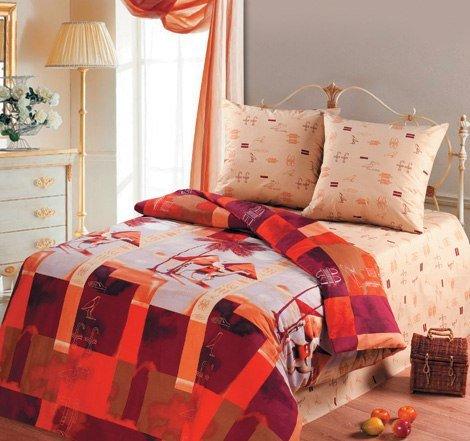 Семейный комплект постельного белья Мемфис