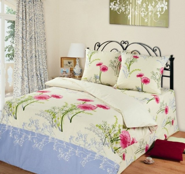 Семейный комплект постельного белья Шанталь
