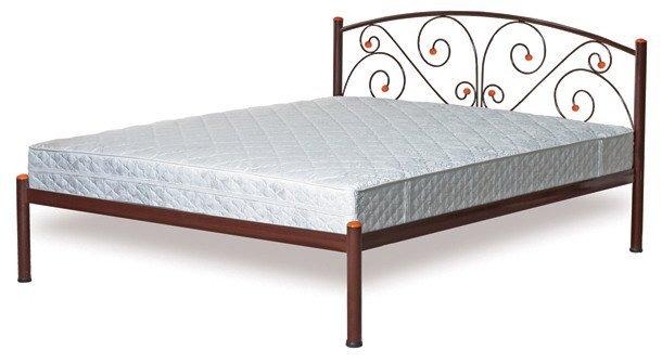 Двуспальная кровать металлическая Butterfly 160x200см