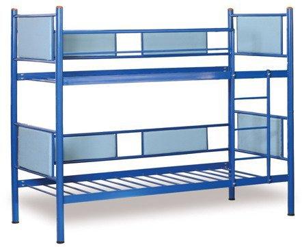 Двухъярусная металлическая кровать Трансформер 90х200