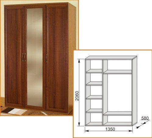 Шкаф 1350 Модена