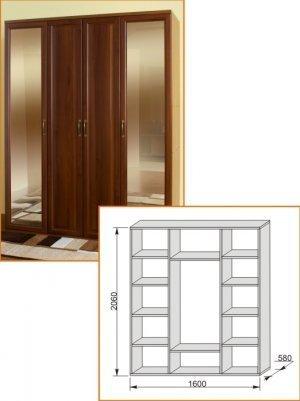 Шкаф 1600 Модена