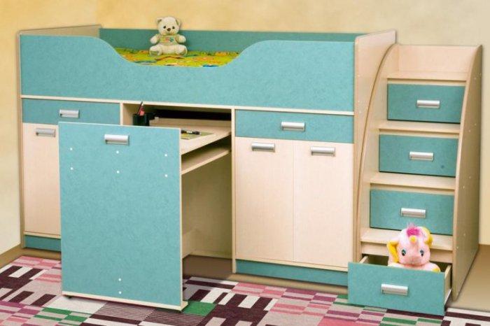 Кровать Капитошка Детский мир
