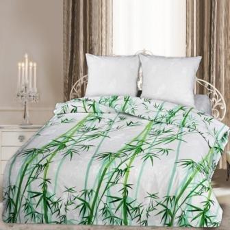 Двухспальный комплект постельного белья Бамбук