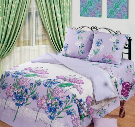 Двухспальный комплект постельного белья Мишель