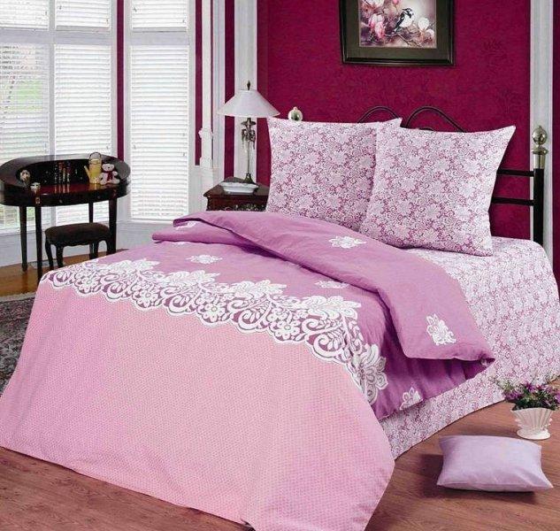 Двухспальный комплект постельного белья Ришелье
