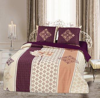 Двухспальный комплект постельного белья панно Дениза