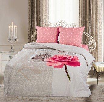 Двухспальный комплект постельного белья панно Изабель