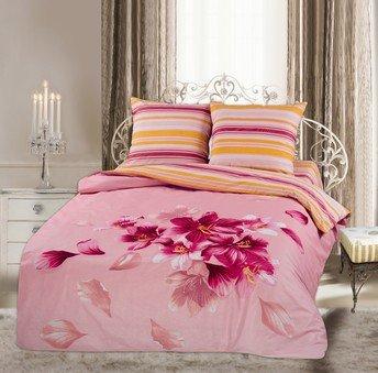 Двухспальный комплект постельного белья панно Нинель