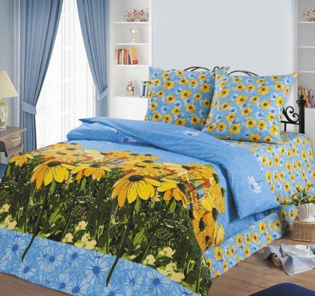 Полуторный комплект постельного белья Альпийские луга